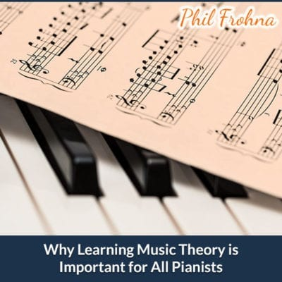Importance of Learning Musical Theory with Playing Piano