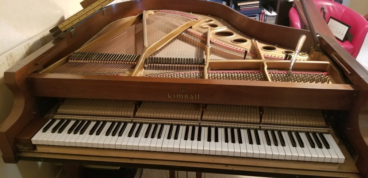 Tuning Kimball Grand in Lutz, FL