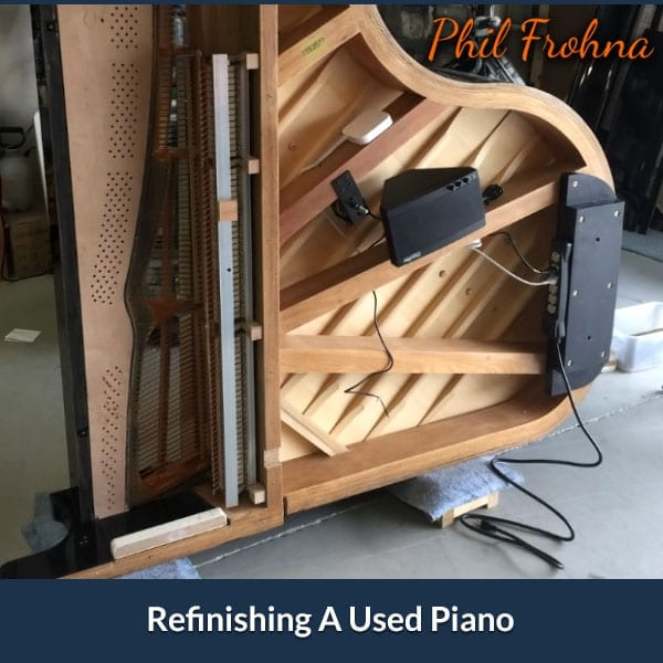 Refinishing A Used Piano