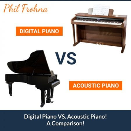 Digital Piano VS. Acoustic Piano! A Comparison!