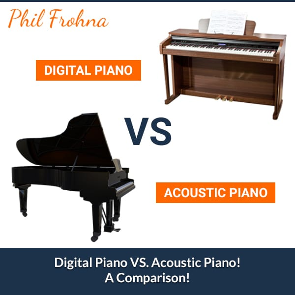 Digital Piano VS. Acoustic Piano! A Comparison!